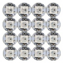 WS2812B LED Chips 100PCS Addressable with PCB Heatsink 5050 RGB 5V