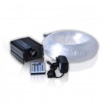 16W LED Starry Ceiling Kits Fiber Optic Decoration with 200pcs*0.75mm 2 meter Fiber